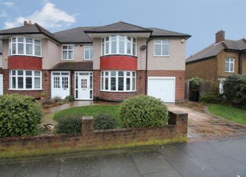 Thumbnail 4 bed semi-detached house for sale in Pound Court Drive, Orpington