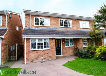 Thumbnail 4 bed semi-detached house for sale in Stafford Close, Cheshunt, Waltham Cross