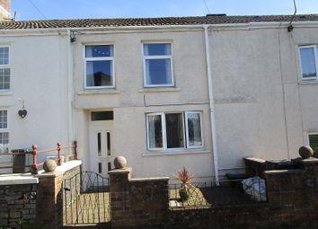 3 bed terraced house for sale in Darren Road, Ystalyfera, Swansea. SA9