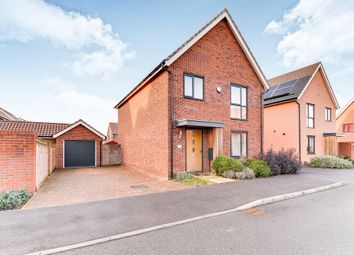 Thumbnail 4 bed detached house for sale in Otter Road, Upper Cambourne, Cambridge
