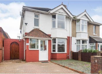 Thumbnail 3 bed semi-detached house for sale in South Mill Road, Regents Park, Southampton