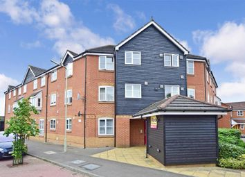 Thumbnail 2 bed flat for sale in White Willow Close, Ashford, Kent