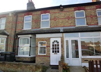 Thumbnail 2 bed terraced house to rent in Salisbury Road, Northfleet, Gravesend