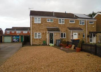 Thumbnail 2 bed end terrace house to rent in Newbury Close, Kempston, Bedford