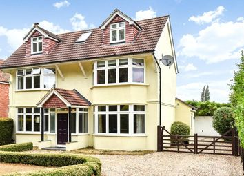 Thumbnail 5 bedroom detached house for sale in The Flats, Blackwater, Camberley, Surrey