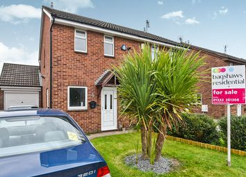 Thumbnail 2 bedroom semi-detached house for sale in Sweetbriar Close, Alvaston, Derby