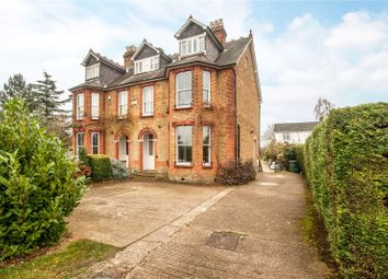 Thumbnail 5 bed semi-detached house for sale in Halliford Road, Sunbury-On-Thames, Middlesex