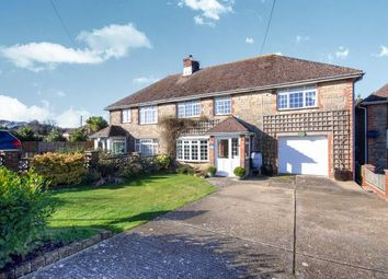 Thumbnail 4 bed semi-detached house for sale in Rolls Hill, Cowes, Isle Of Wight
