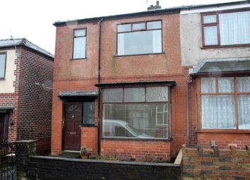 Thumbnail 2 bedroom semi-detached house for sale in Stanley Road, Bolton