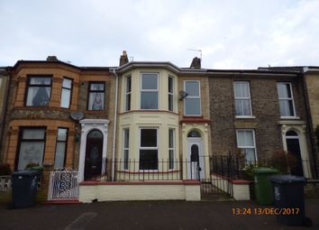 Thumbnail 3 bedroom terraced house to rent in Queens Road, Great Yarmouth