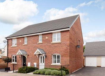 Thumbnail 3 bed semi-detached house for sale in Maes Yr Ysgall, Coity, Bridgend, Pen-Y-Bont Ar Ogwr