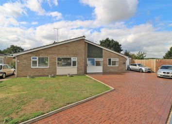 Thumbnail 3 bed semi-detached bungalow for sale in Alfells Road, Elmstead, Colchester, Essex