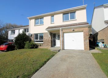 Thumbnail 4 bed detached house for sale in Woodland Way, Torpoint