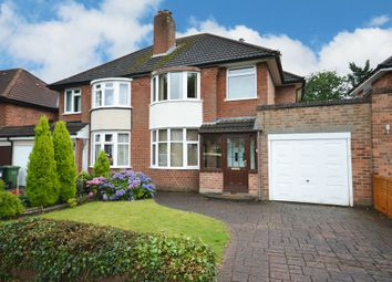 Thumbnail 3 bed semi-detached house for sale in Arnold Road, Shirley, Solihull