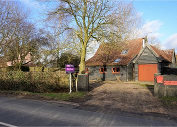 Thumbnail 3 bed barn conversion for sale in Station Road, Laxfield, Woodbridge