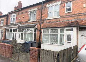 Thumbnail 4 bedroom terraced house to rent in Wilton Road, Handsworth, Birmingham
