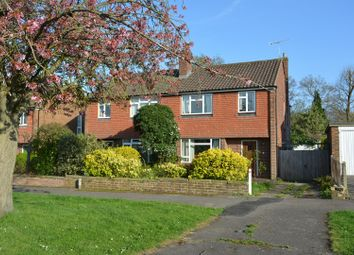 Thumbnail 3 bed semi-detached house for sale in Charlock Way, Guildford