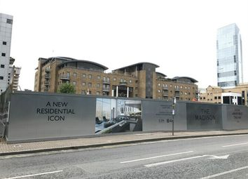 Thumbnail 1 bedroom flat for sale in The Madison, Marsh Wall, London