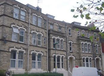 Thumbnail 2 bedroom flat for sale in The Crescent, Christchurch Road, Boscombe