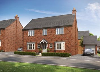 Thumbnail 4 bed detached house for sale in Wood Lane, Gedling, Nottingham