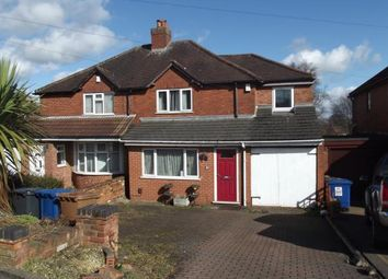 Thumbnail 4 bed semi-detached house for sale in New Road, Burntwood, Staffordshire