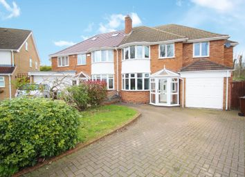 Thumbnail 5 bed semi-detached house for sale in Bramcote Drive, Solihull