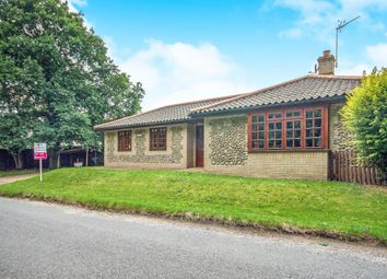 Thumbnail 3 bed detached bungalow for sale in Hinderclay Road, Rickinghall, Diss