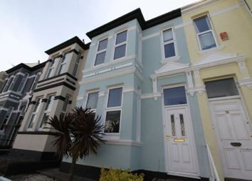 Thumbnail 3 bed terraced house to rent in Old Park Road, Peverell, Plymouth