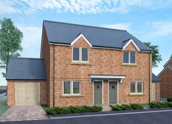 Thumbnail 2 bed semi-detached house for sale in Elmwood Close, Oakley, Aylesbury