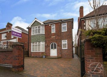 Thumbnail 3 bed detached house for sale in Berry Hill Road, Mansfield