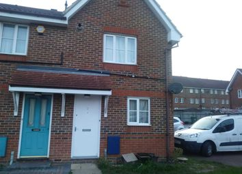 Thumbnail 2 bed end terrace house to rent in Birkdale Close, Thamesmead West, London