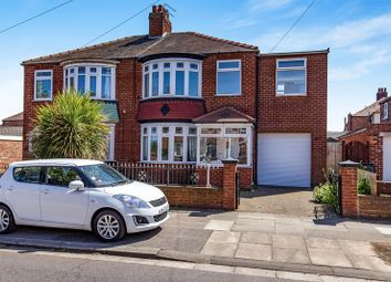 Thumbnail 4 bed semi-detached house for sale in Thames Road, Redcar