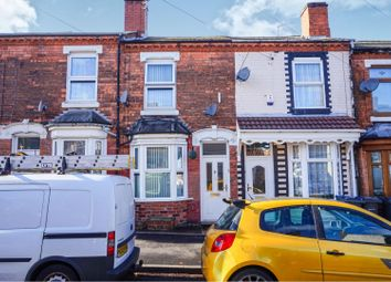 Thumbnail 2 bed terraced house for sale in Chiswell Road, Birmingham