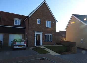 Thumbnail 3 bedroom link-detached house for sale in Daisy Drive, Leiston, Suffolk