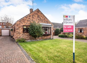 Thumbnail 2 bed detached bungalow for sale in Burney Close, Beverley