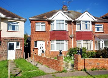 Thumbnail 3 bed semi-detached house for sale in Annweir Avenue, Lancing, West Sussex