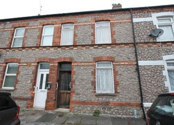 Thumbnail 2 bedroom terraced house for sale in Gwenllian Street, Barry