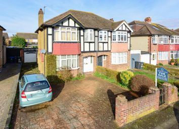 Thumbnail 3 bedroom semi-detached house for sale in Cheshire Gardens, Chessington