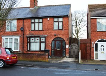 Thumbnail 3 bed semi-detached house for sale in Mayflower Road, Leicester