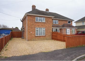 Thumbnail 2 bed semi-detached house for sale in Winchester Road, New Milton