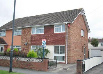 Thumbnail 3 bedroom semi-detached house for sale in Hareclive Road, Bishopsworth, Bristol