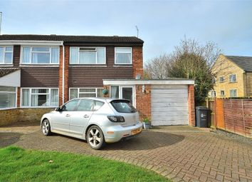 Thumbnail 3 bed semi-detached house for sale in Meadway, Bugbrooke, Northampton