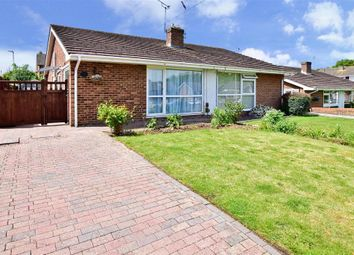 Thumbnail 2 bed semi-detached bungalow for sale in Cheddar Close, Ashford, Kent