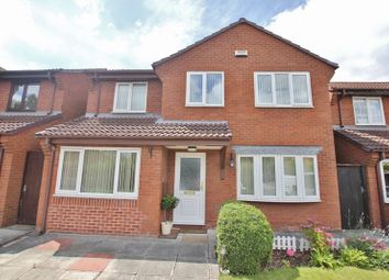 Thumbnail 4 bed detached house for sale in Pullman Close, Heswall, Wirral