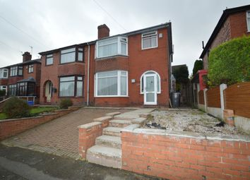 Thumbnail 3 bed semi-detached house to rent in Shelley Road, Prestwich, Manchester