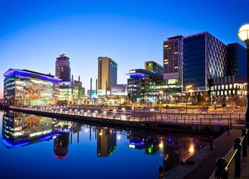 Thumbnail 2 bed flat to rent in Media City UK, Salford Quays, Salford