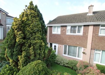 Thumbnail 3 bed semi-detached house for sale in Peters Park Close, Plymouth