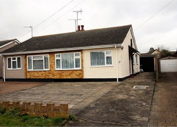 Thumbnail 2 bed semi-detached bungalow for sale in Grange Road, Wickford