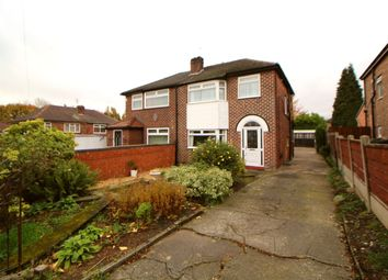 Thumbnail 3 bed semi-detached house for sale in Fencegate Avenue, Heaton Chapel, Stockport