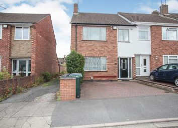 3 bed end terrace house for sale in Harborough Road, Whitmore Park, Coventry, West Midlands CV6